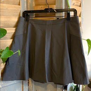 BCBG Maxazaria flared lined mini skirt